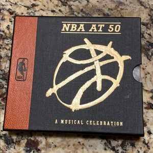 NBA music cd and booklet. A musical celebration.